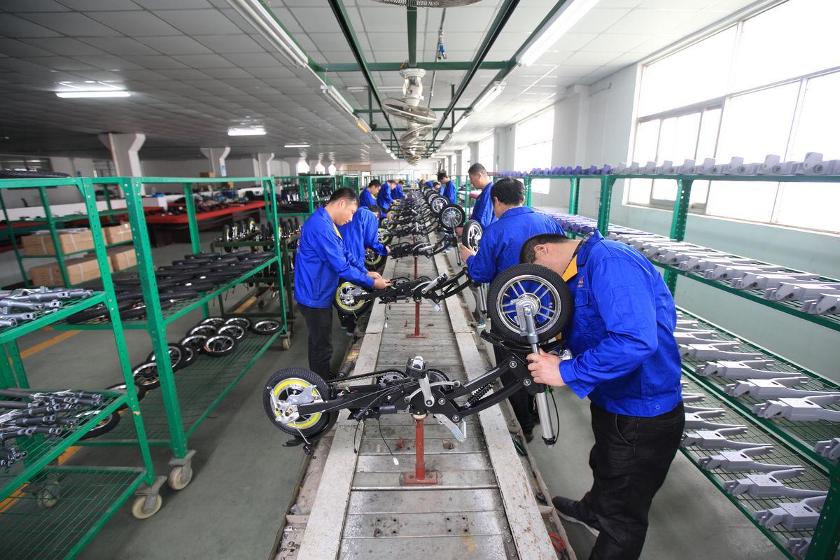 车组装_生产车间-无锡东南车辆科技有限公司